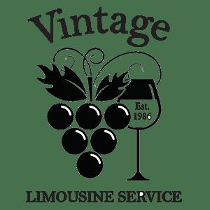 vintage limousine service logo